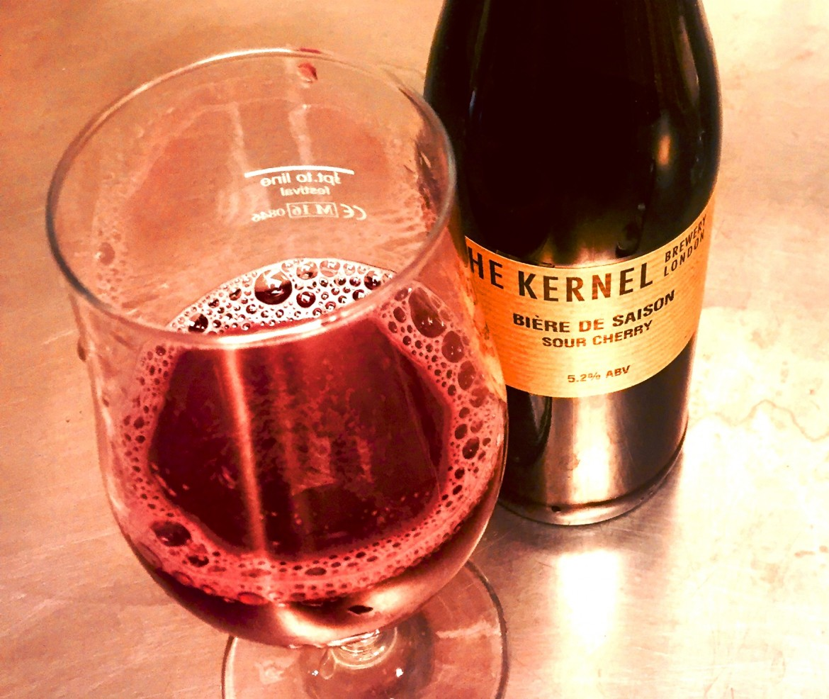 The Kernel Sour Cherry Biere de Saison